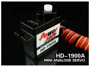 Register free shipping!! 2pcs/lot 100% original Power HD HD-1900A Mini Size High Speed Analog Servo 9G<br><br>Aliexpress