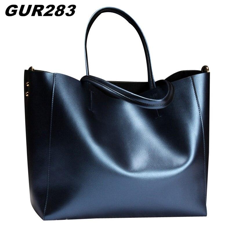 GUR283 Luxury Genuine Leather Bag 2017 Sale Designer Casual Tote Bags Handbags Women Famous Brands Shoulder Bags High Quality<br><br>Aliexpress