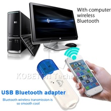 Newst bluetooth car kit Mini Wireless Handsfree Bluetooth Audio Music Receiver Adapter For iphone 5s 6s for Android Phone(China)
