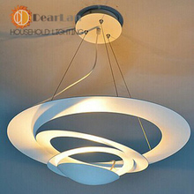 Modern Fashional Attractive Pendant Lamps Good Decoration White Pendant Lights For Bedroom  Living Room,Fast Shipment By EMS