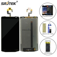 Srjtek For Oukitel K10000 LCD Display Touch Screen Digitizer Panel Glass Matrix Touchscreen Parts Replacement New Original +Tool