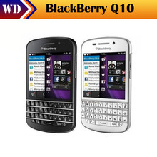 Q10 Original Unlocked Blackberry Q10 8MP 2GB RAM+16GB ROM 4G Network FM Wi-Fi Mobible Phone