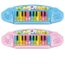 12 scale Mini Electronic Keyboard Musical instruments Toy with Educational Electone Multifunction Piano Toy for Children Kids(China)