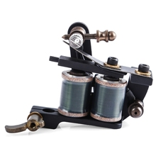 Professional 12 Wraps Coils Permanent Tattoo Machines Liner Shader Carbon Steel Rotary Assorted Tatoo Motor Gun Instrument Tools