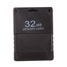 32MB PS2 Memory Card for All Playstation Game Save Data Stick Module Black #78608(China)