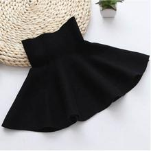 Classic Style Girls Skirts 4 5 6 7 8 9 10 11 12 13 14 Years Kids Skirts for Girls Spring Autumn Knitting Childrens Skirts