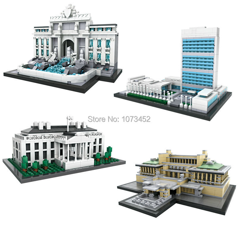 Building blocks  world famous architecture series loz mini blocks building bricks brinquedos juguetes DIY toys for children 6+<br><br>Aliexpress