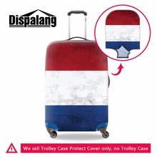 Nertherland flag Printed Luggage Cover Brazil's flag Suitcase Protective Covers for Travel Fashion Luggage Protectors 18-30 inch