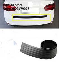 Car Rubber Rear Guard Bumper Protector Trim Cover car sticker plate for Renault CLIO CAPTUR Megane Koleos