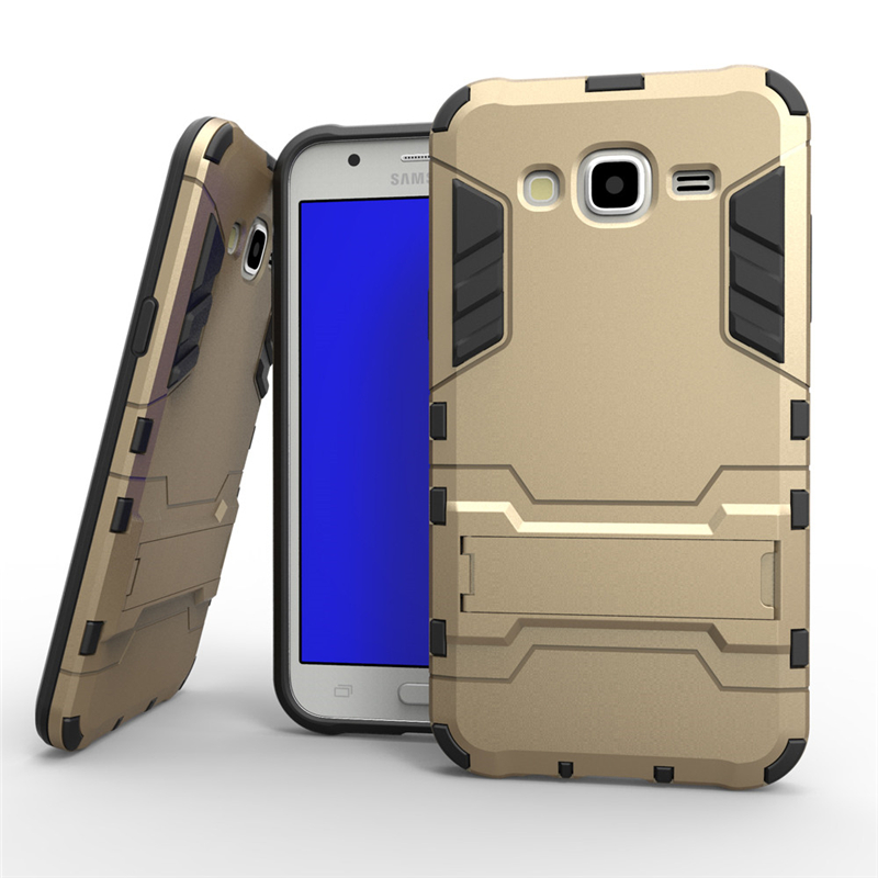 Soft TPU Back Hard Hybrid Rugged Armor Cases Samsung J5 Plastic Luxury Shockproof Cover Samsung Galaxy J5 Case 2015