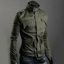 Jacket Brand New Man Winter Jackets Men Coats Army Military High Quality Stand Collar Jacket outerwear