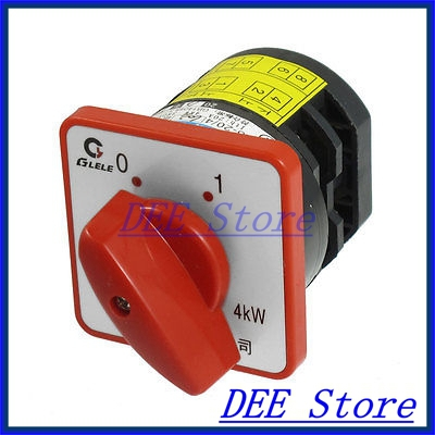 AC 380V 20A 2 Position Rotary Cam Universal Changeover Switch HZ5-20/4 L03<br><br>Aliexpress