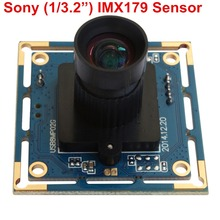 8 megapixel Micro digital SONY IMX179 USB 8MP hd Webcam High Speed Usb 2.0 CCTV Usb camera Board with 75degree no distortion len