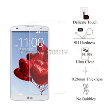 2.5D 0.26mm Premium Tempered Glass For LG G Pro2 F350 D837 D838 Screen Protector Film Glass For LG G Pro 2 F350 D837 D838 Glass