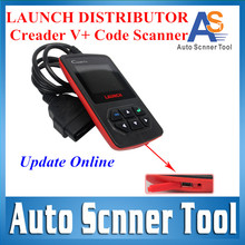 100% Original Update online CReader V Plus  Launch Creader V+ OBD2 OBDII Code Scanner  Launch X431 Series