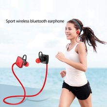 Sport Bluetooth headset Wireless Blue Tooth V4.2 Headphones Stereo earphone with Mic Ear Hook for iPhone Android Phone Earbuds