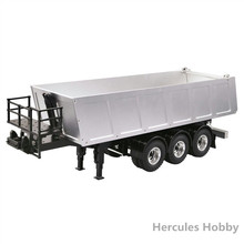 [HERCULES HOBBY] RC Tractor Trucks Tamiya 1:14 Dump Trailer Models Made in China(China)