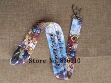 Hot Sale! 10 pcs Japanese Anime Kingdom Hearts Key Chains Mobile Cell Phone Lanyard Neck Straps   Party Favors SZ-045