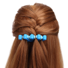 2 Colors Lady French Hair Braiding Tool Weave Braid Roller Hair Twist Styling Bun Maker DIY Hair Band Accessories(China)