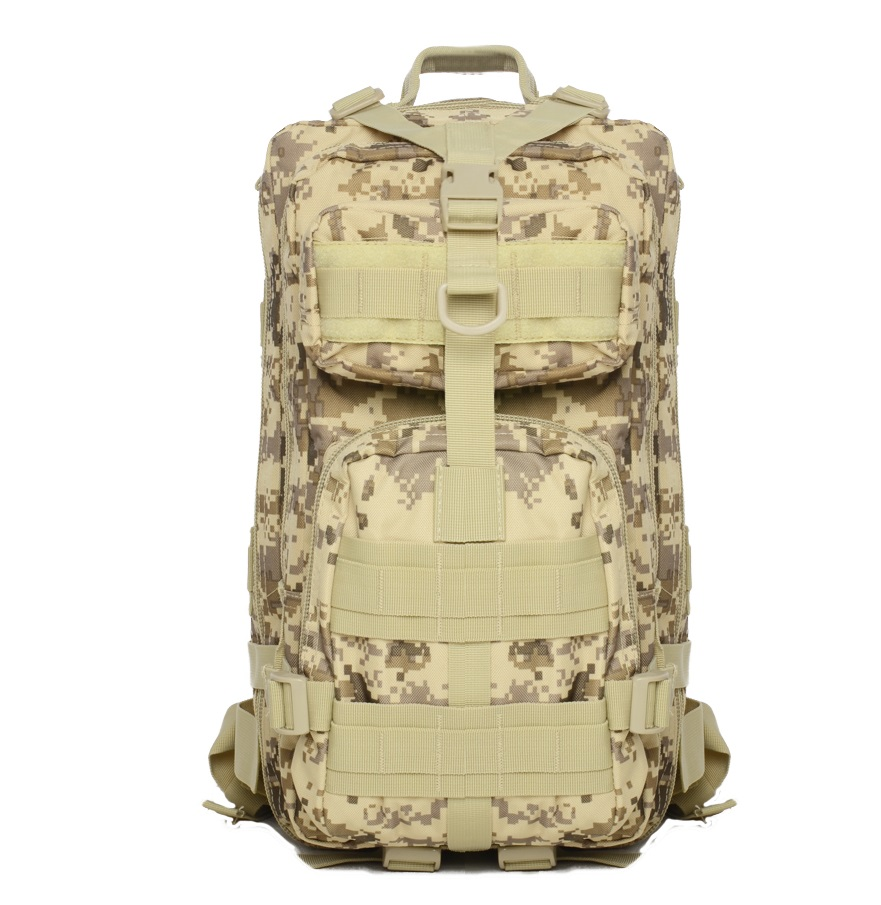 2016 35L Oxford camouflage backpack military shoulder 3P man and women backpack BL007 wholesale<br>