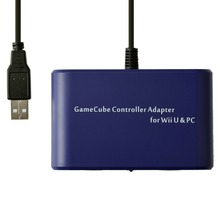 Mayflash 2 Port for GameCube GC Controller Adapter Converter for WiiU PC USB