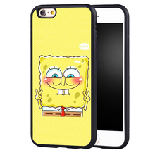 Sponge Bob And Patrick Cartoon Pattern phone Case cover for iPhone 7 7plus 6s 6 6plus