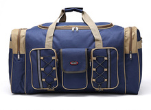 Navy Blue Custom Durable Multi-Functional Travel Luggage Bag Duffle Bag Promotional Gift Bag