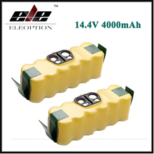 2x 14.4V 4000mAh Ni-MH Battery for iRobot Roomba 500 510 530 532 534 535 540 550 560 562 570 580 600 610 700 760 770 780 800 R3
