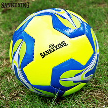 SANKEXING High Quality Soccer Ball Official Size 5 Training Football Balls Anti-slip futbol Soccer PU Voetbal Bal Outdoor Sport(China)