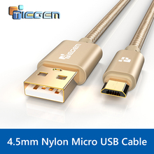 Original Micro USB Cable,TIEGEM Fast Charging Mobile Phone USB Charger Cable 1/2/3M Data Sync Cable for Samsung HTC LG Android