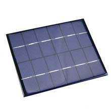 6V 2W 330mA Sunpower Solar Power Panel DIY Module For Battery Charger Charging Easy to Install