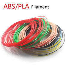 3d printing pen pla 1.75mm abs filament 20 color choose Best Gift for Kids perfect 3d pen 3d pens Environmental safety plastic(China)