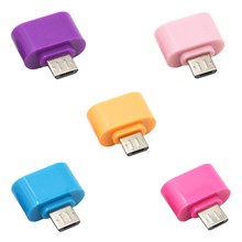 Centechia New Arrival Digital Data New Standard Micro USB To USB OTG Mini Adapter Converter for Android Cell phones Accessories(China)