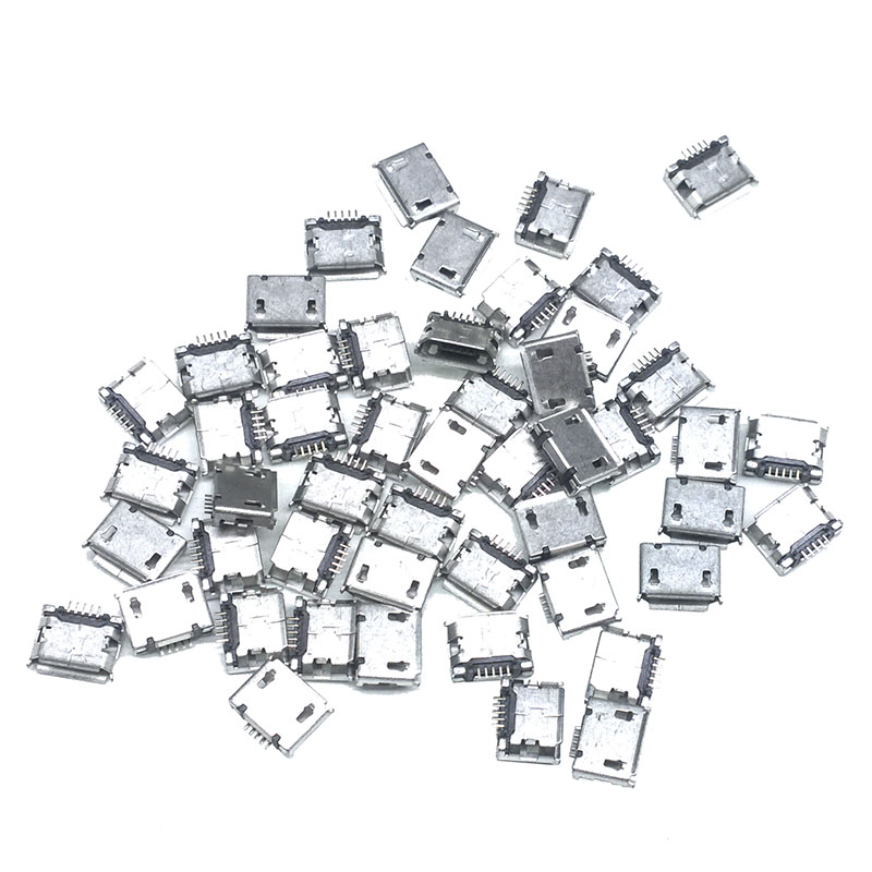 20 pcs Models total Micro USB 5Pin jack tail sockect Connector port sockect for samsung Lenovo Huawei ZTE HTC ect