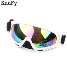 KuuFy Color Painted Frame Professional snow Windproof X400 UV Protection Anti-fog Ski Glasses Snowboard Skate Skiing Goggles