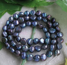 FREE SHIPPING>>>@@ N622 10x Freshwater Pearls Purple Nugget Loose Craft Beads 15 Inch Fashion Jewelry