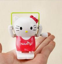 BOHS Rope Skipping Kitten Plastic Kids Children Wind-up Wind Up Jumping Hello Kitty Kt Toy(China)