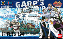 Bandai ONE PIECE Grand Ship Collection Navy Grap's Plastic Model