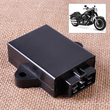 Motorcycle 12V DC 6Pin Control Module CDI Module Box Unit Digital Ignition fit for Suzuki GN250 Chopper
