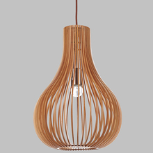 modern minimalist creative Southeast Asian bamboo pendant lamp Living room dining room hanging light
