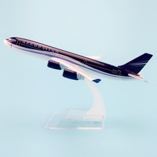 16cm Metal Air Azerbaijan Airlines A340 Airbus 340 4K-AZ86 Airways Plane Model Aircraft Airplane Model w Stand Gift(China)