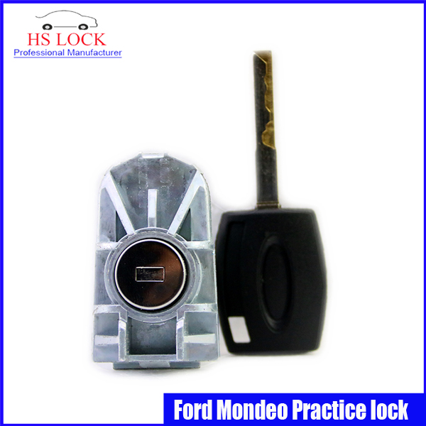 professional Locksmith Supplies Ford Mondeo Auto /Car Practice Lock Cylinder With Car Key Locksmith Tools Training Car Lock<br><br>Aliexpress