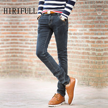Buy 2017 Male Four Seasons Skinny Jeans Men's Brand High Clothing Trend Slim Trousers Male Casual Pants Large Size 27-38 for $18.97 in AliExpress store