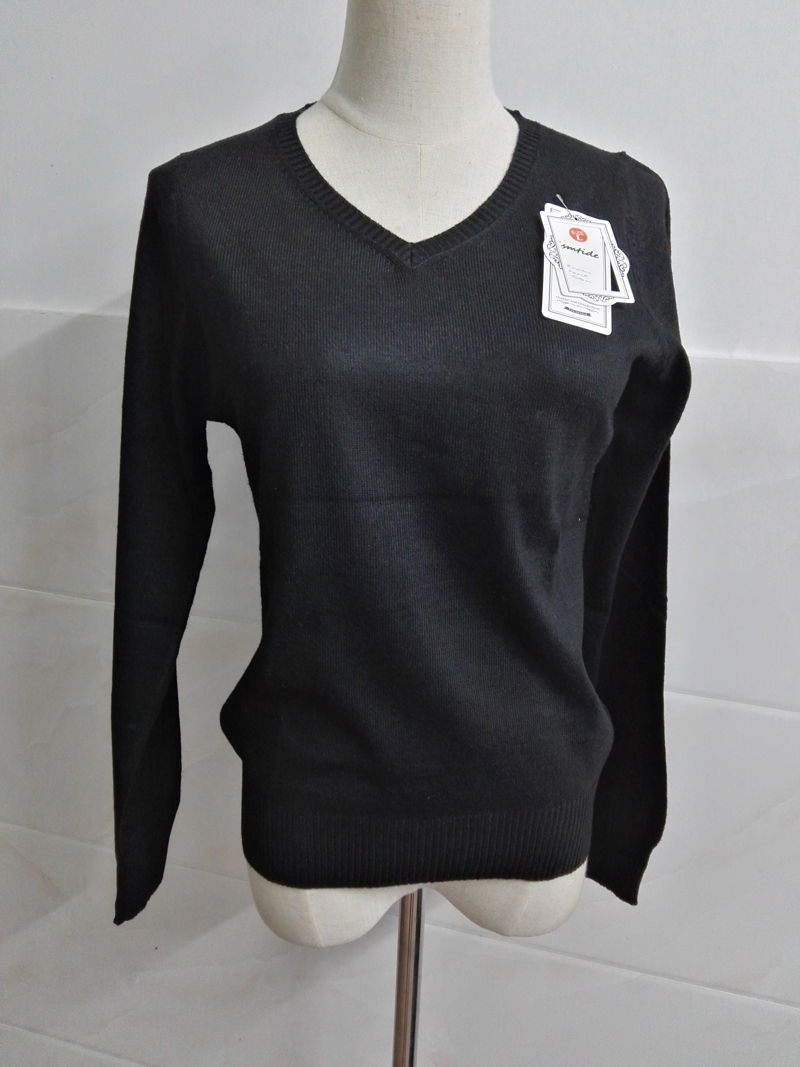 Cashmere Sweater V Neck Women Fashion Autumn Pullovers Knit Cashmere Sweater Women Slim Knit Coat Female Blouse Winter Knitwear 72