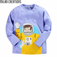 Kids T-shirt Boys Clothes Brand 2016 Fashion Baby Boys T shirt Long Sleeve Animal Pattern Cotton Children T shirts for Boys Tops