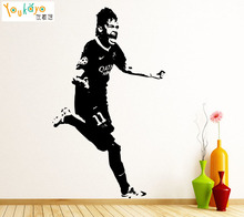 Neymar Da Silva Barcelona Brazil Football Player Decal Wall Art Sticker Picture Sport Stars