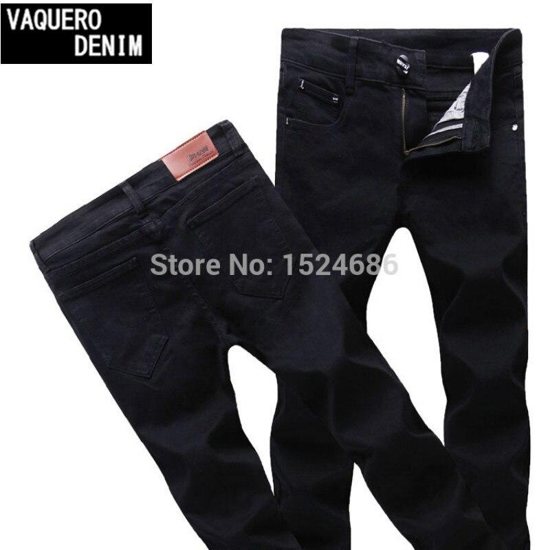 2015 New Arrival High Quality Mens Jeans Stretch Classic Black Denim Mens Pants Casual Fashion Slim Fit Jeans Size 27-36 919Îäåæäà è àêñåññóàðû<br><br>