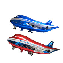 Free Shipping Oversized Airbus modeling aluminum balloons birthday holiday party decoration balloon toy wholesale