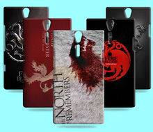 Ice and Fire Cover Relief Shell For SONY Xperia S SL LT26i Cool Game of Thrones Phone Cases For Xperia P LT22i