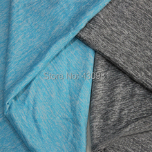 Blue Tshirts Material Sewing Tissu Cloth Fashion Jersey Knit Fabric Textiles 100*172cm(China)